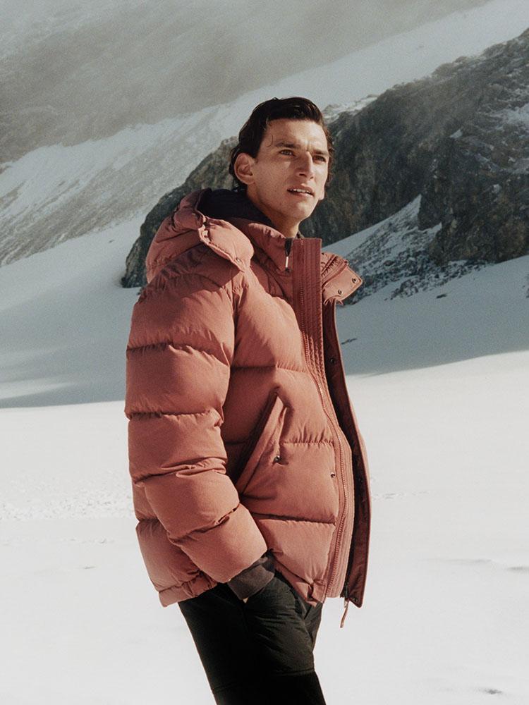 Boxy down puffer jacket
